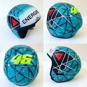 Helm-Design für Thomas Mayrpeter