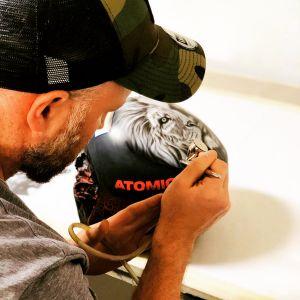 Work in progress: Manuel Fellers neuer Helm