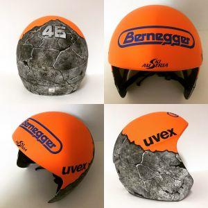 Helm-Design für Daniel Traxler