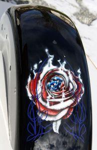 "US-Style ""Rose"" mit Pinstripe"