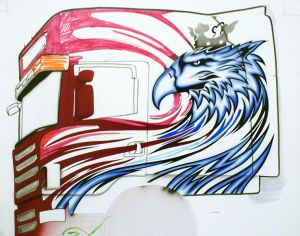 Entwurf für Scania Longline